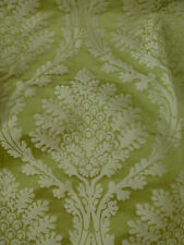Designers Guild Royal Collection Alexandra periodot lime damask fabric