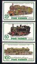Yemen 1983 Trains/Steam Engine/Locomotive/Rail/Railways/Transport 3v set  n28110