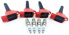 MITSUBISHI LANCER EVOLUTION X IGNITION COILS PACK EVO JDM 10 & BOSCH SPARK PLUGS