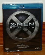 X-MEN COLLECTION-X-MEN COLECCION-PACK 6 BLU-RAY-NUEVO-PRECINTADO-NEW-SEALED