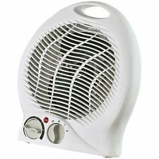 Optimus H-1322 Portable 2-Speed Fan Heater with Thermostat, New, Free Shipping
