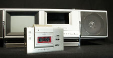 SUPER RARE 80s BOOM BOX/ WALKMAN COMBO 1982 GE ROADSHOW BY SHARP MICRO CASSETTE