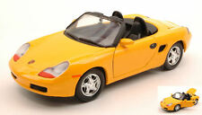 Porsche Boxster 1996 Yellow 1:24 Model MOTORMAX