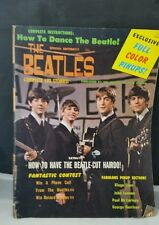 TEEN SCREEN 1964 THE BEATLES MAGAZINE * SPECIAL EDITION COMPLETE LIFE STORIES