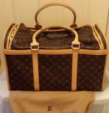 Louis Vuitton Monogram Sac Chien 50 Dog Pet Carrier Bag Purse Travel- New.