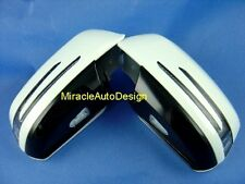 ARROW LED DOOR MIRROR WHITE COVERS SET FOR 2007-2009 MERCEDES BENZ W204 C-CLASS