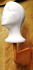 Native American War Bonnet & Trailer Headdress Stand Wall mount 23 x 14 x 5 inch