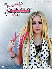 Avril Lavigne The Best Damn Thing Learn PLAY ROCK Piano Guitar PVG Music Book