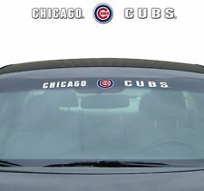 "CHICAGO CUBS 35"" X 4"" WINDSHIELD WINDOW DECAL CAR TRUCK MLB BASEBALL"