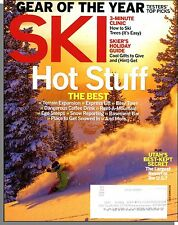 Ski - 2013, December - Hot Stuff! Gear of the Year, How to Ski Trees, Cool Gifts