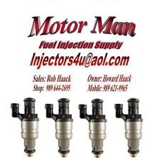 Motor Man - Reman Fuel Injector Set of 4 - 2002-05 Saturn & Chevy 2.2L 12564446