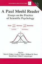 Multivariate Applications: A Paul Meehl Reader : Essays on the Practice of...