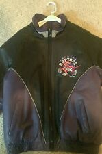 Medium Toronto Raptors Leather Jacket