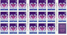 LOVE SWANS STAMP BOOKLET -- USA, #3123A 32 CENT
