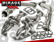 BRAND NEW JDM STAINLESS EXHAUST HEADER W/ CAT DELETES FOR NISSAN 370Z VQ37