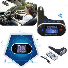 Bluetooth V2.1 + EDR Player FM Transmitter Car Kit MP3 USB MMC MP3 + Remote HH1