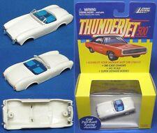 1999 JL T-Jet Slot Car Clone Body WHITE FORD A/C COBRA