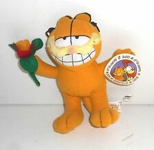 2002 Garfield The Cat - LOVE YOU -  8 Inch  Plush Toy - Jim Davis  (AV7)