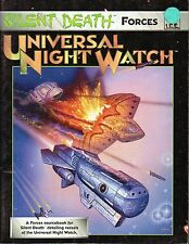 SILENT DEATH-FORCES-UNIVERSAL NIGHT WATCH-Sourcebook-RPG-(SC)-very rare