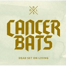 "CANCER BATS ""DEAD SET ON LIVING (CD & DVD)"" CD + DVD NEUWARE"