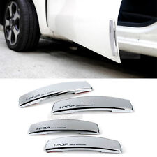Simple Edge Door Guard Bumper Protector Silver Color for Universal Car