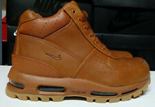 Nike Air Max Goadome Size 8 Tawny Light Brown Gum Mens Boots Shoes 865031-2