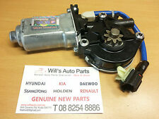 KIA SORENTO 2002-2006 GENUINE BRAND NEW WINDOW REGULATOR MOTOR RH FRONT