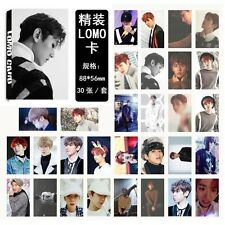 30pcs /set Kpop EXO BAEKHYUN For Life Personal Photocard Poster Lomo Cards
