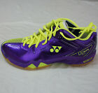Yonex Badminton Shoes SHB02Ltd, Purple/Yellow 3-Layer Power Cushion