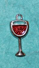 Pendant Wine Charm Glass Charm Bartender Wine Tasting Sangria Charm Cocktail Mix