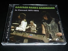 CD.MANFRED MANN'S EARTHBAND IN CONCERT 71.73. /SOUNDBOARD RECORDING.500 COPIES