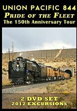 UNION PACIFIC 844 PRIDE OF THE FLEET THE 150TH ANNIVERSARY TOUR NEW BLU RAY VIDE