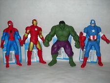 Soft Figure Marvel Hero (Ironman, The Hulk, Spiderman and Captain America)