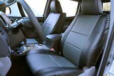 TOYOTA TACOMA 2005-2015 IGGEE S.LEATHER CUSTOM FIT SEAT COVER 13COLORS AVAILABLE
