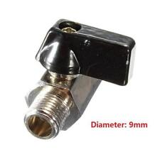 "DZ1321 Chrome Brass 1/8"" Bsp Ball Valve Tap Male to Female Air Compressor Hose Δ"