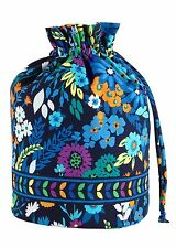 NWT ~ VERA BRADLEY MIDNIGHT BLUES  DITTY BAG ~Great for Beach, Gym, Baby items