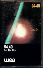 54.40 54-40 - Set the Fire  VERY RARE OOP ORIG Canadian Cassette (Brand New!)
