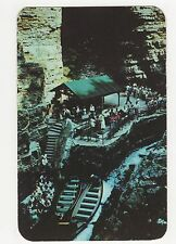 USA, Start of Boat Ride, Table Rock, Ausable Chasm N.Y. Postcard, A799