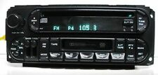 Chrysler Caravan Neon Dakota RAM 2002 up CD Cassette player RAZ see Test VIDEO