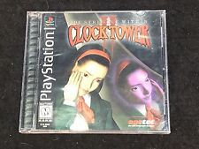 Clock Tower 2 II The Struggle Within CIB Complete PS1 Playstation!