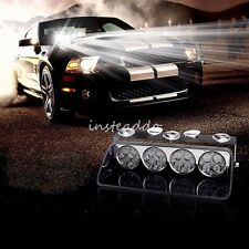 16 LED Emergency Warning Car Auto Boat WindShield Police Strobe Light 12V White