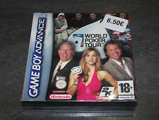 JEU GAME BOY ADVANCE GBA WORLD POKER TOUR 2K SPORTS NEUF SOUS CELLO
