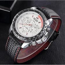 Superbe Montre Sport Megir Bracelet cuir Homme Fashion Watch Promo