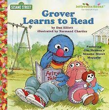 Grover Learns to Read (Junior Jellybean Books(TM)) Elliott, Dan Hardcover