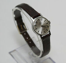 Vintage Lady's Omega Geneve Stainless Steel Wristwatch with Mechanical Movement