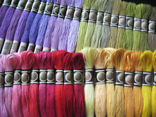Full set of 447 colors skeins of cotton cross stitch floss threads