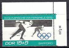 DDR 1971 Mi. Nr. 1727 Postfrisch mit Eckrand TOP!!! (22869)