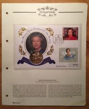 1996 QUEEN ELIZABETH II 70th BIRTHDAY JERSEY FIRST DAY COVER & £5 COIN