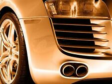 ART PRINT POSTER PHOTO CAR AUTOMOBILE DETAIL GRILL EXHAUST WHEEL LFMP0047