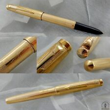 Parker 51 Presidential Carioquinha Fountain Pen - 18K solid gold - Brazil 1950s